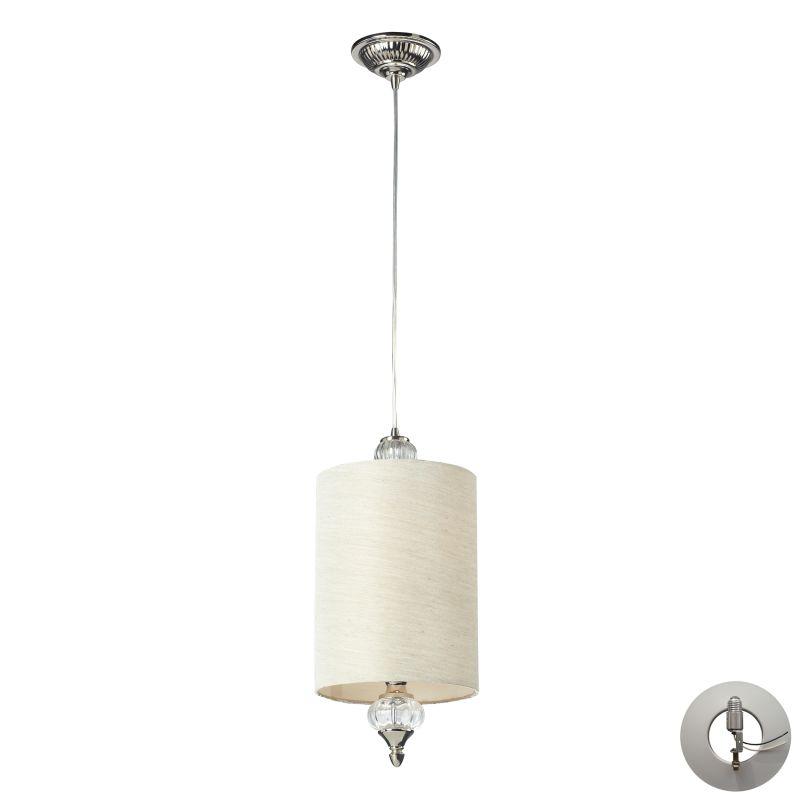 "Elk Lighting 31302/1-LA Dalton Single Light 8"" Wide Instant Pendant"