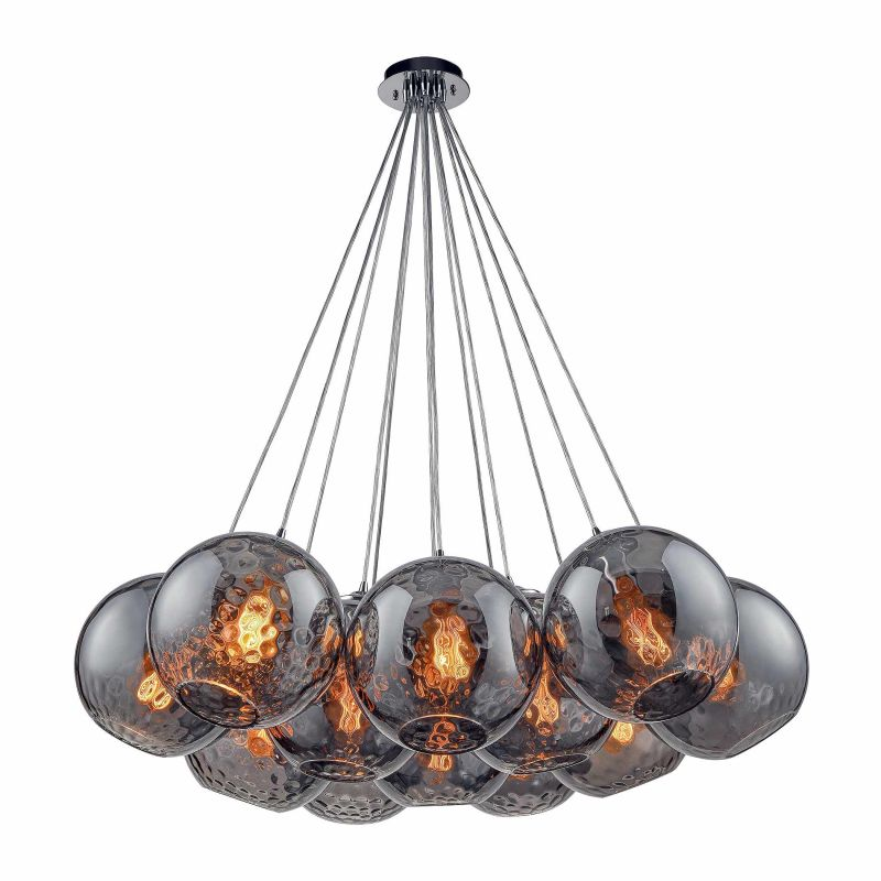 "Elk Lighting 31380/12SR Watersphere 12 Light 20"" Wide Multi Light Sale $2094.00 ITEM: bci2883114 ID#:31380/12SR UPC: 748119097527 :"