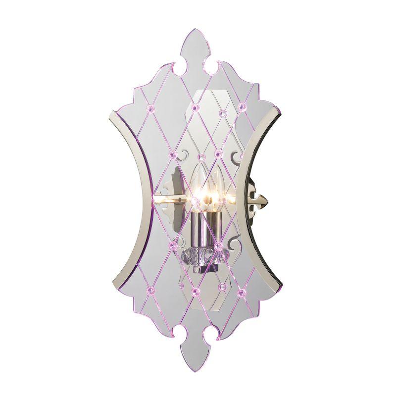 Elk Lighting 31410/1 Radelle 2 Light Wall Sconce Polished Nickel Sale $315.00 ITEM: bci2351705 ID#:31410/1 UPC: 748119066141 :