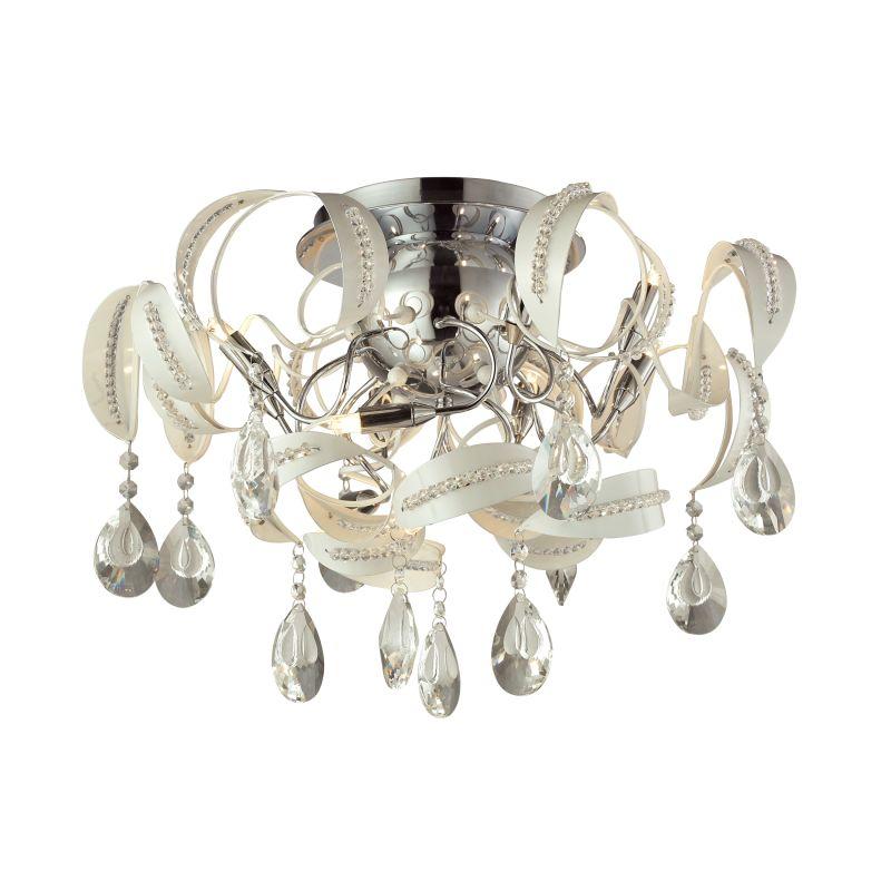Elk Lighting 31545/12 Zebula 12 Light Semi-Flush Ceiling Fixture White Sale $598.00 ITEM: bci2614993 ID#:31545/12 UPC: 748119086606 :