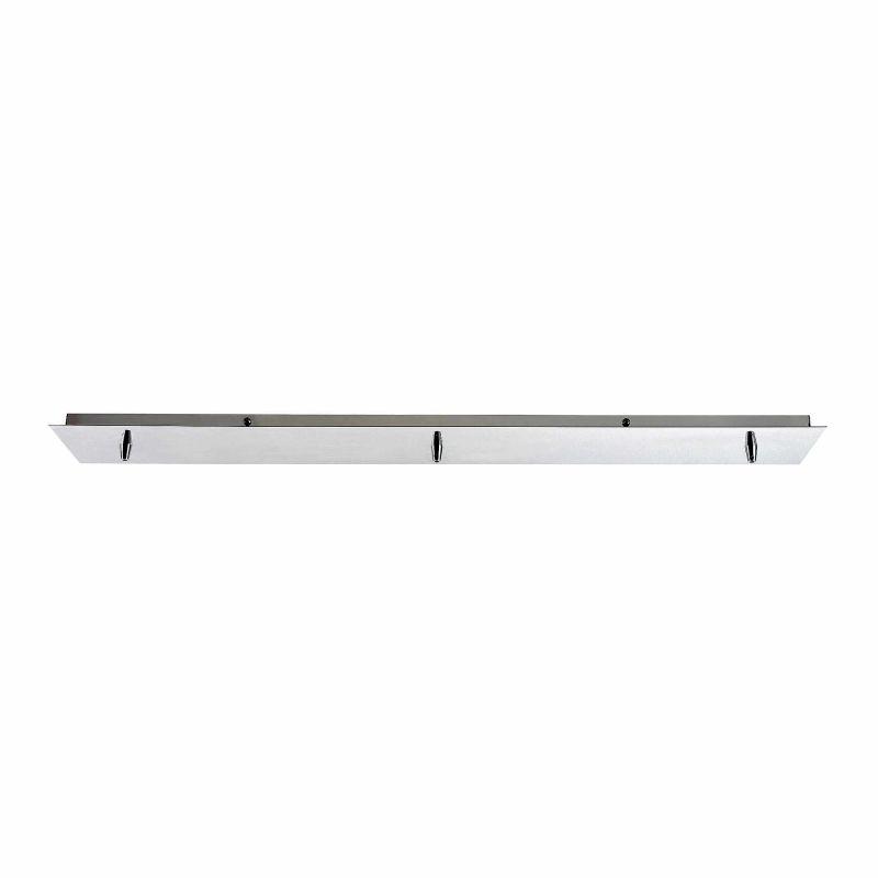 Elk Lighting 3LP 3 Light Linear Pendant Canopy Polished Chrome