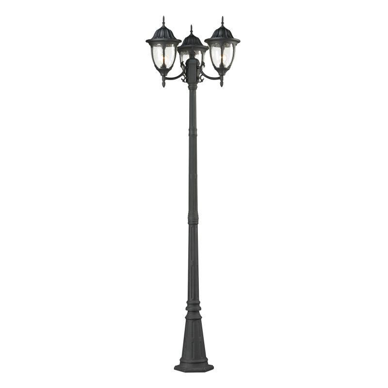 Elk Lighting 45089/3 Central Square 3 Light Outdoor Post Light Matte Sale $338.00 ITEM: bci2351752 ID#:45089/3 UPC: 748119068299 :