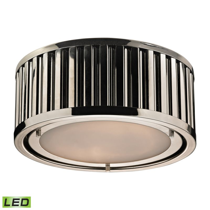 Elk Lighting 46100/2-LED 2 Light LED Flush Mount Ceiling Fixture from Sale $354.00 ITEM: bci2351771 ID#:46100/2-LED UPC: 748119072395 :