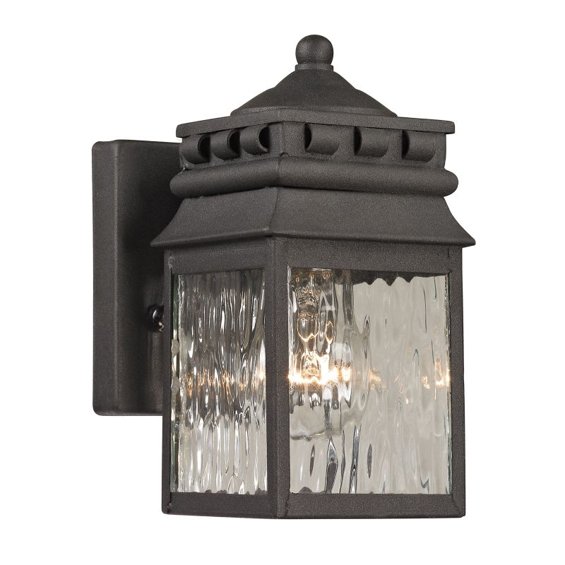 Elk Lighting 47060/1 Forged Lancaster 1 Light Outdoor Wall Sconce Sale $119.00 ITEM: bci2351814 ID#:47060/1 UPC: 748119070704 :