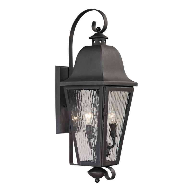 Elk Lighting 47101/2 Forged Brookridge 2 Light Outdoor Wall Sconce