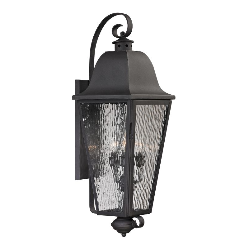 Elk Lighting 47103/4 Forged Brookridge 4 Light Outdoor Wall Sconce Sale $392.00 ITEM: bci2351840 ID#:47103/4 UPC: 748119070940 :