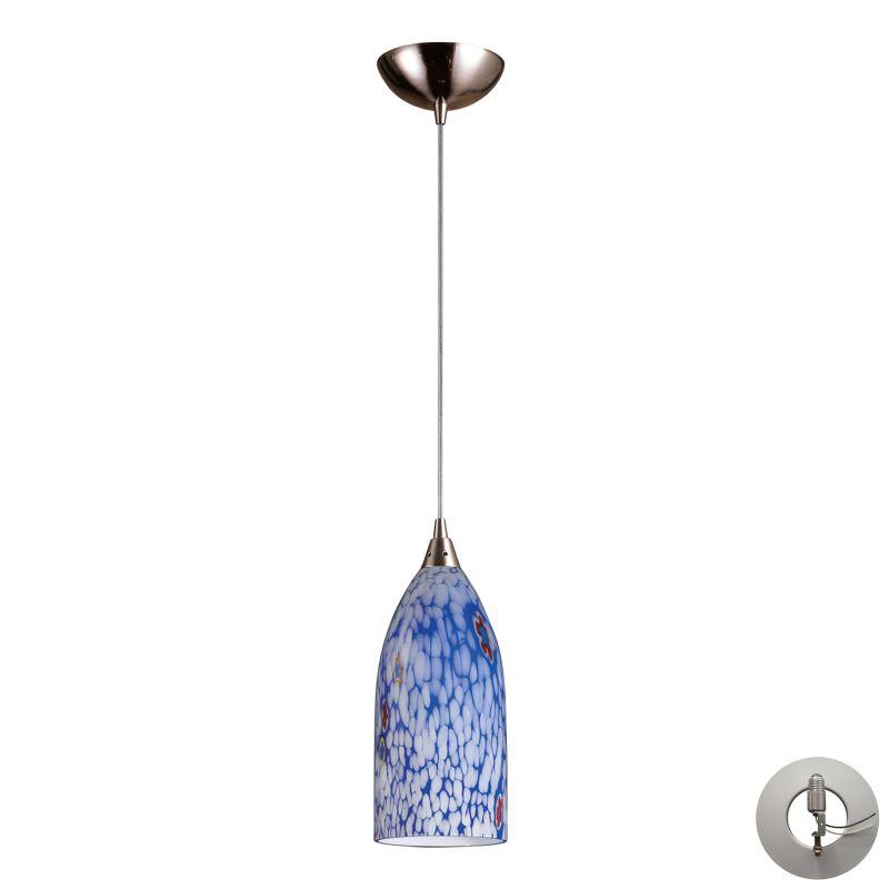"Elk Lighting 502-1-LA Verona Single Light 5"" Wide Instant Pendant with"