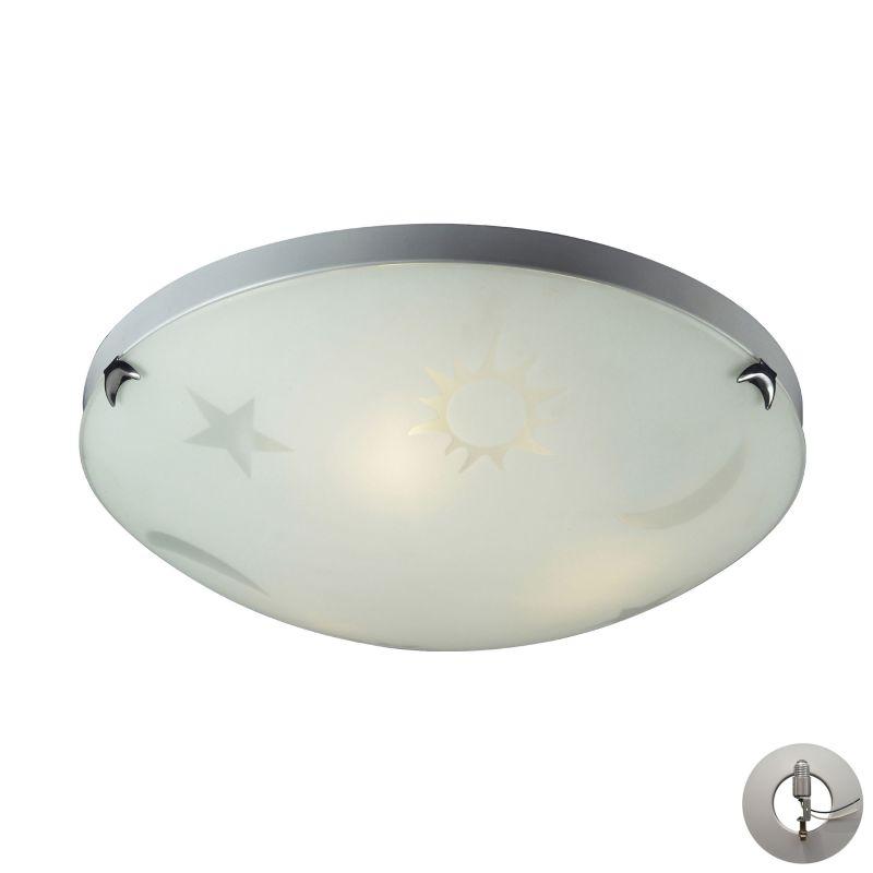 Elk Lighting 5088/3-LA 3 Light Flush Mount Ceiling Fixture From The Sale $160.00 ITEM: bci2953013 ID#:5088/3-LA UPC: 748119049755 :
