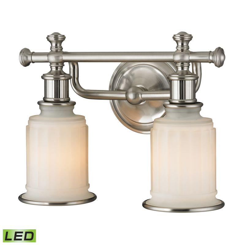 "Elk Lighting 52001/2-LED Acadia 2 Light 13"" LED Vanity Fixture with"