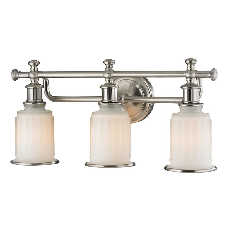 "Elk Lighting 52002/3 Acadia 3 Light 22"" Vanity Fixture with Frosted"