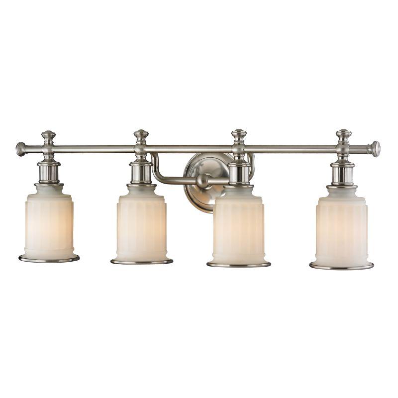 """Elk Lighting 52003/4 Acadia 4 Light 30"""" Vanity Fixture with Frosted"""