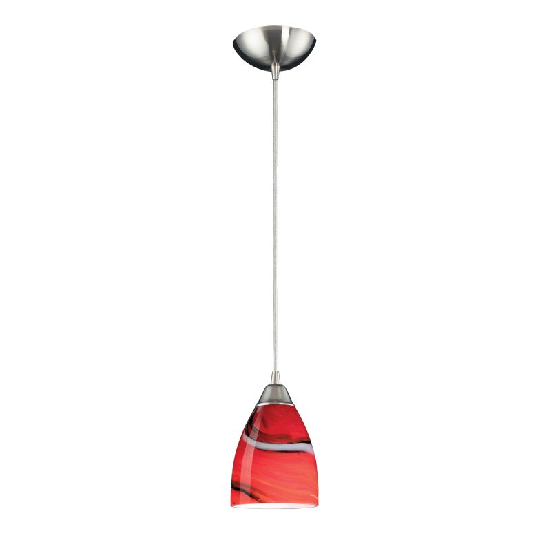 "Elk Lighting 527-1-LED Pierra Single Light 5"" Wide LED Mini Pendant"