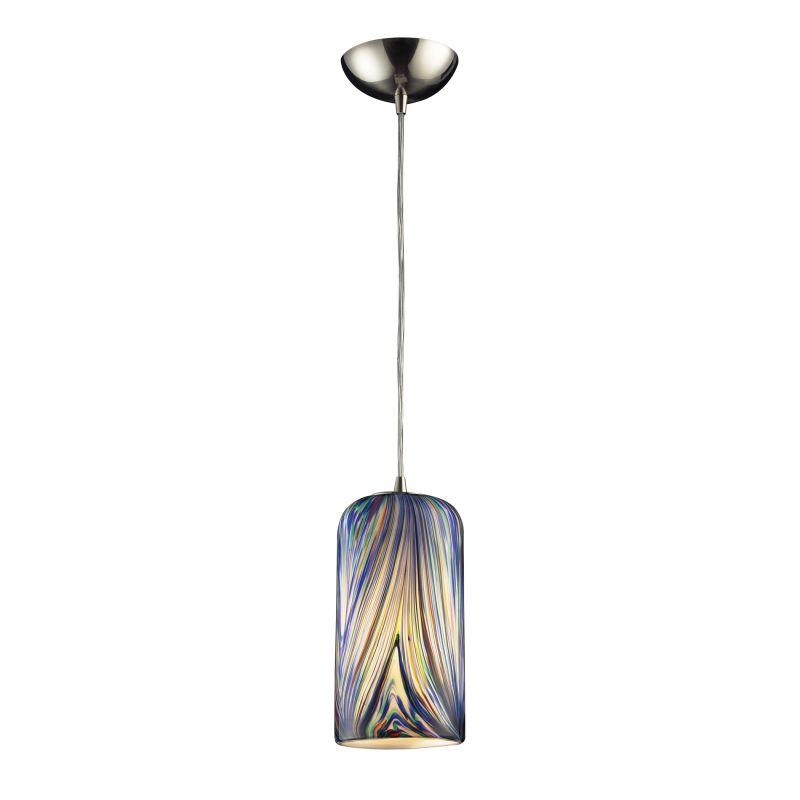 """Elk Lighting 544-1-LED Molten Single Light 5"""" Wide LED Mini Pendant"""
