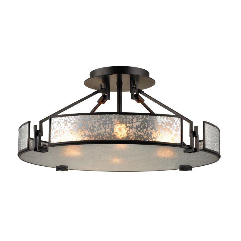 Elk Lighting 57091/4 Lindhurst 4 Light Semi-Flush Ceiling Fixture Oil