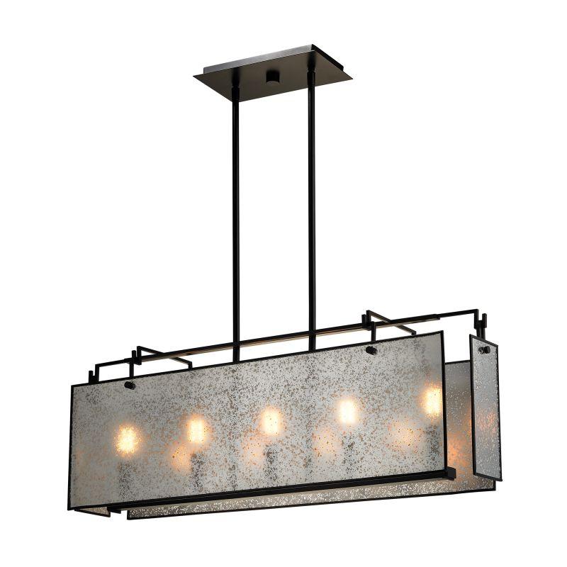 Elk Lighting 57093/5 Lindhurst 5 Light Chandelier Oil Rubbed Bronze