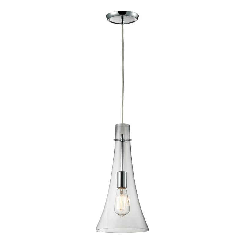 "Elk Lighting 60055-1 Menlow Park Single Light 8"" Wide Mini Pendant"