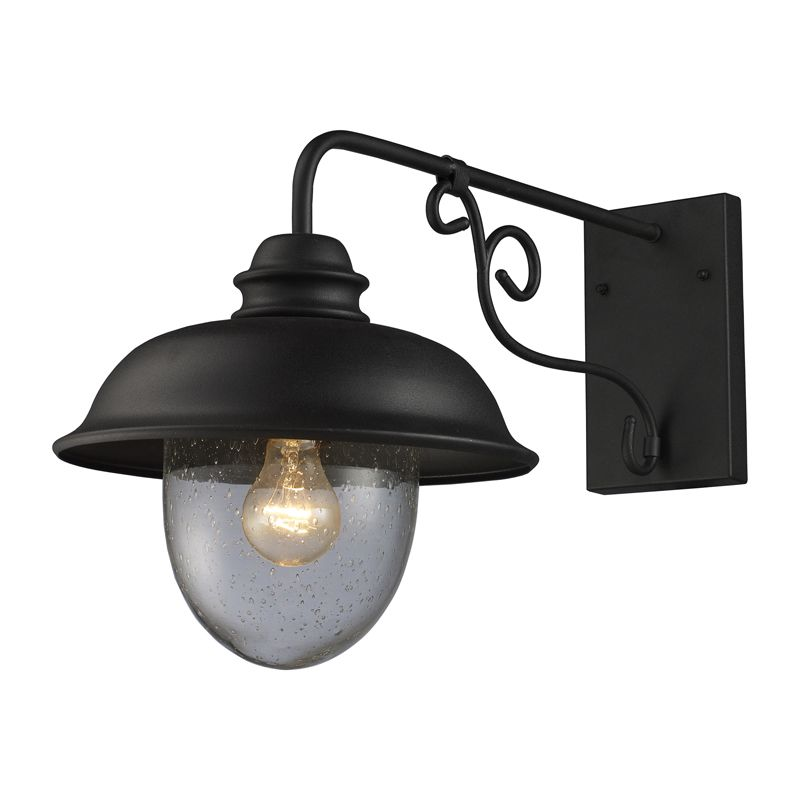 Elk Lighting 62001-1 1 Light 11&quote Wide Outdoor Wall Sconce from the