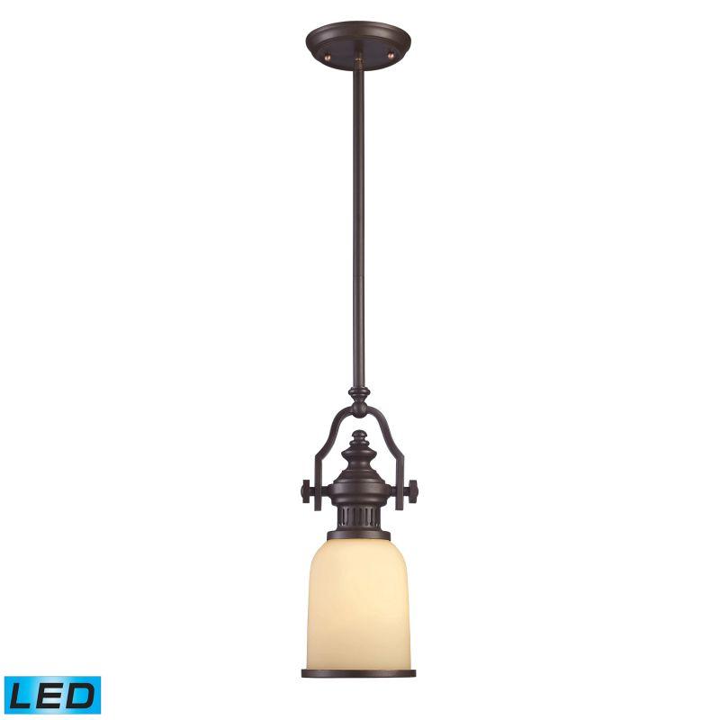 Elk Lighting 66132-1-LED Chadwick 1 Light LED Pendant Oiled Bronze