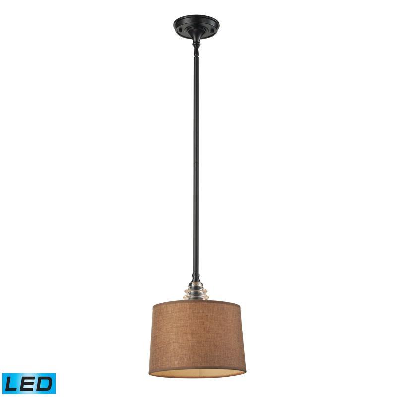 Elk Lighting 66819-1-LED Insulator Glass 1 Light LED Pendant Oiled Sale $204.00 ITEM: bci2583343 ID#:66819-1-LED UPC: 830335021407 :
