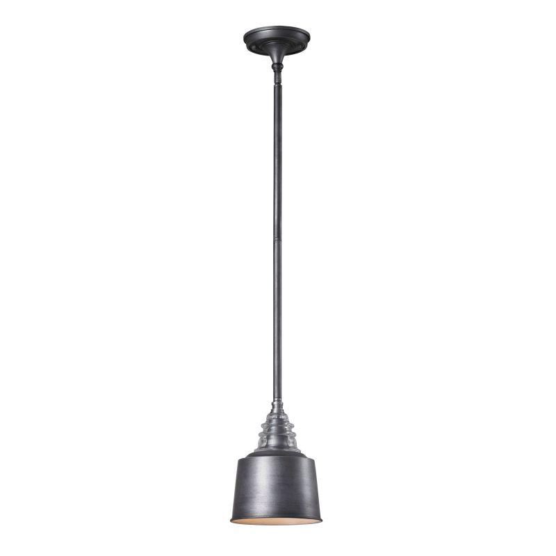 "Elk Lighting 66828-1 Insulator Glass Single Light 7"" Wide Mini Pendant"