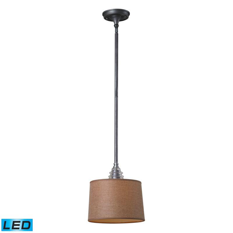 Elk Lighting 66829-1-LED Insulator Glass 1 Light LED Pendant Weathered
