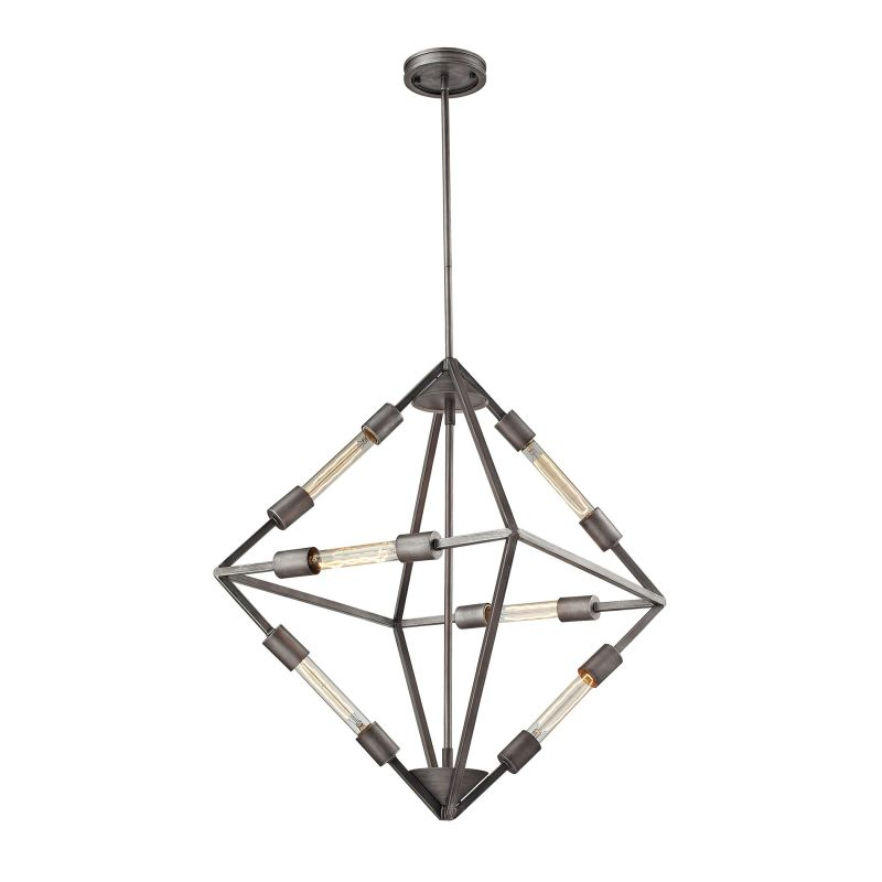 Elk Lighting 66894/6B 6 Light 1 Tier Chandelier From The Laboratory