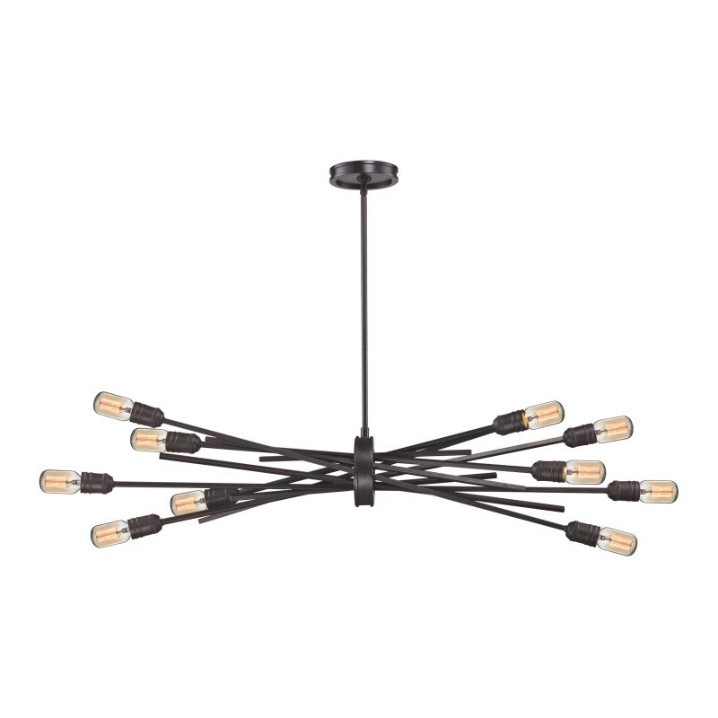 Elk Lighting 66912/10 Xenia 10 Light Chandelier Oil Rubbed Bronze Sale $458.00 ITEM: bci2615279 ID#:66912/10 UPC: 748119088297 :