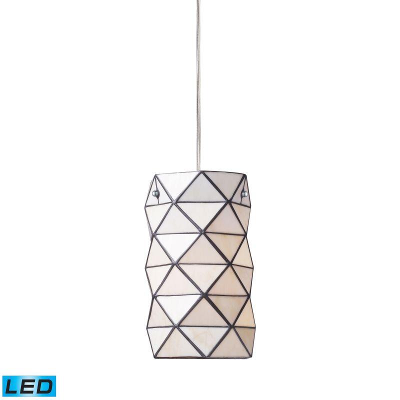 """Elk Lighting 72021-1-LED Tetra Single Light 7"""" Wide LED Mini Pendant"""