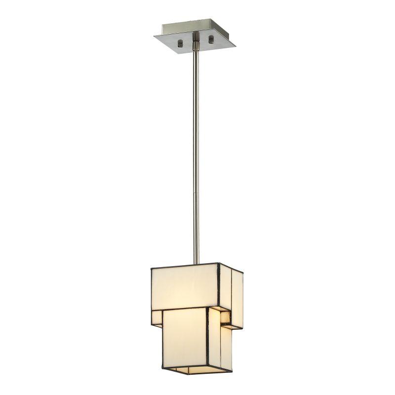 "Elk Lighting 72062-1 Cubist Single Light 5"" Wide Mini Pendant with"