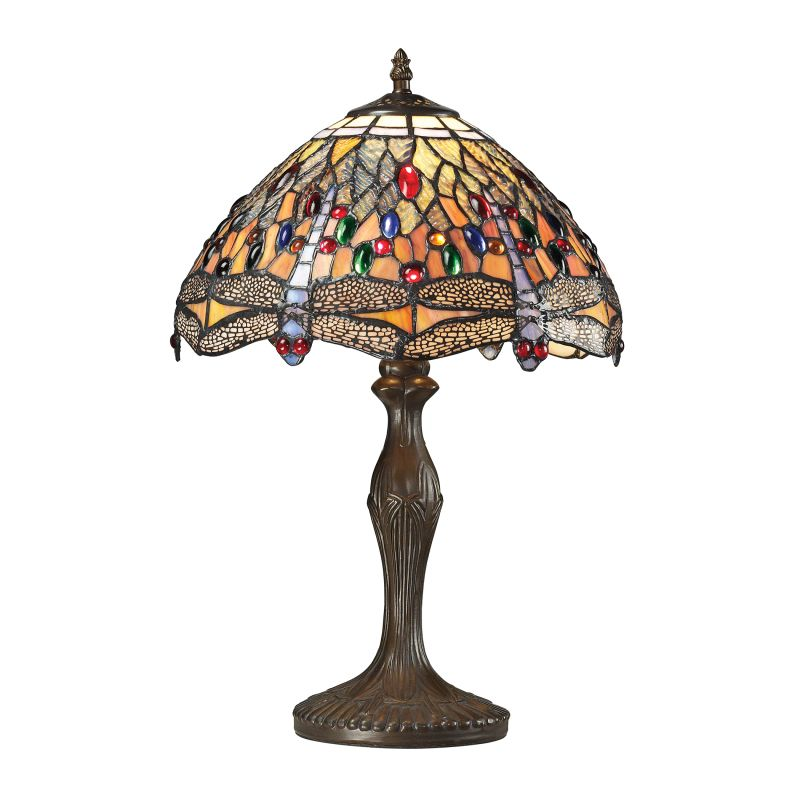 Elk Lighting 72078-1 Dragonfly 1 Light Table Lamp Dark Bronze Lamps Sale $290.00 ITEM: bci2351902 ID#:72078-1 UPC: 748119071466 :