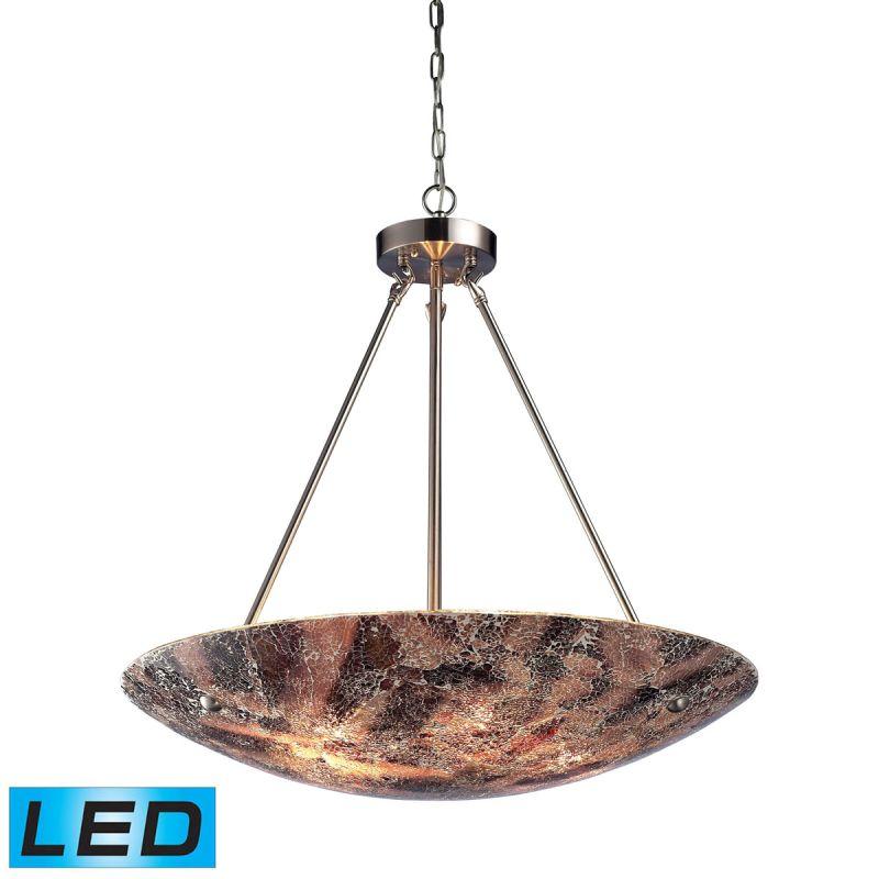 "Elk Lighting 73033-5-LED Avalon 5 Light 24"" Wide LED Pendant with"