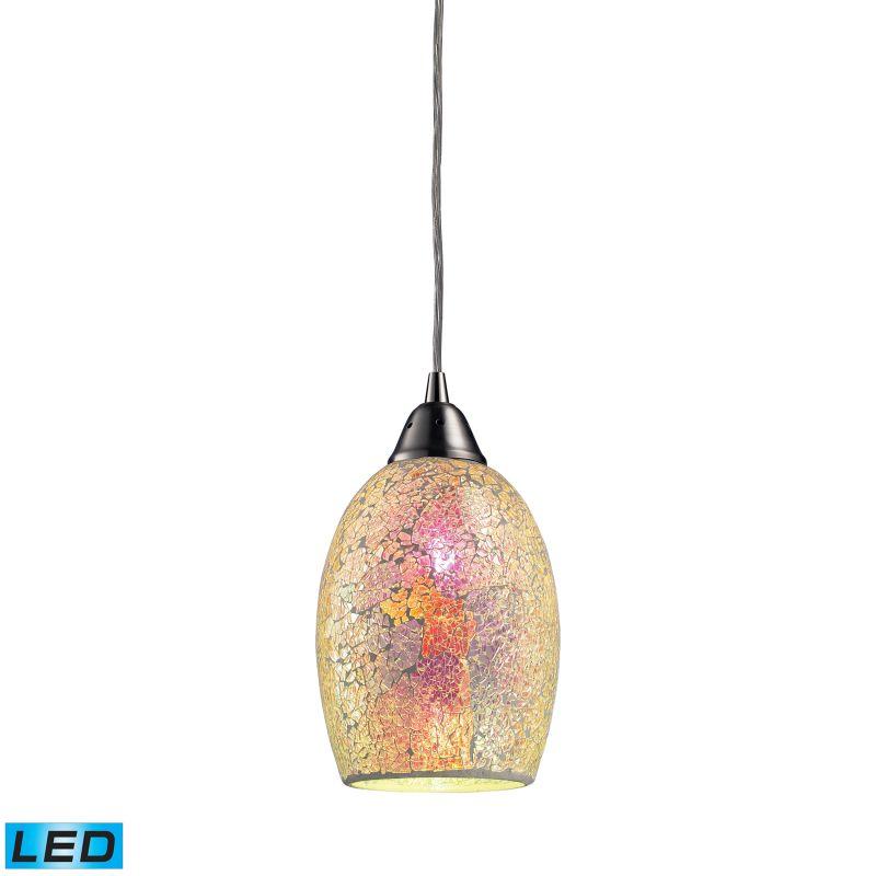 """Elk Lighting 73041-1-LED Avalon Single Light 5"""" Wide LED Mini Pendant"""