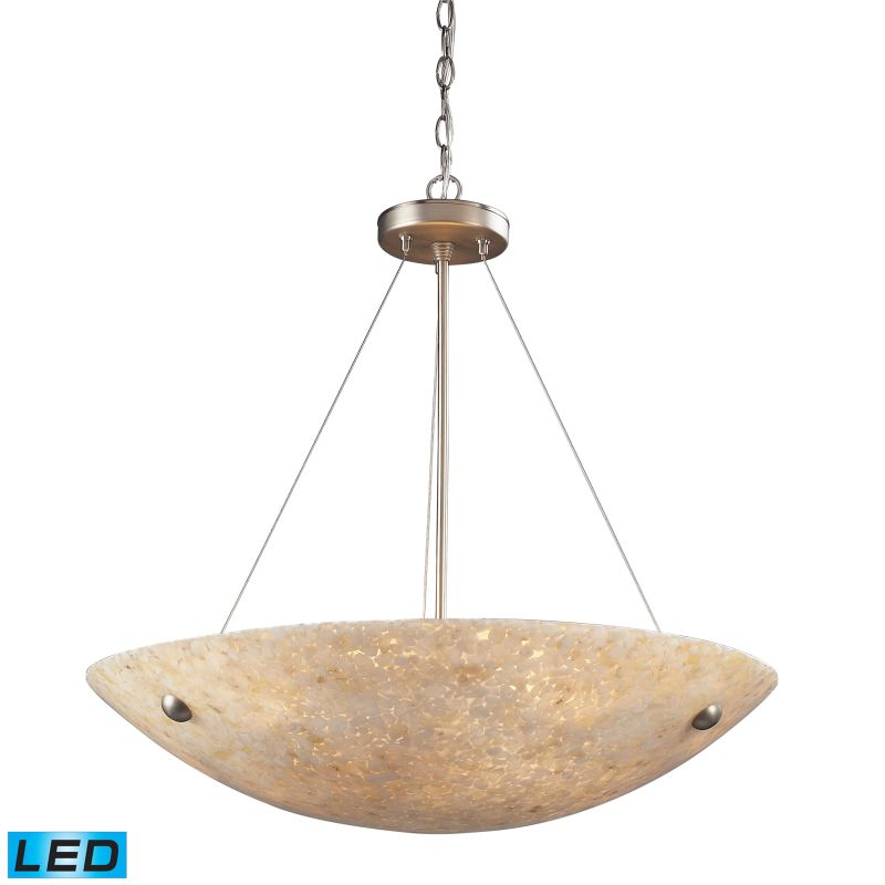 "Elk Lighting 8887/6-LED Stonybrook 6 Light 24"" Wide LED Pendant with"