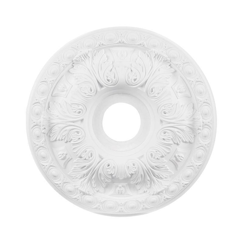 "Elk Lighting M1018 18"" Pennington Ceiling Medallion White Accessory"