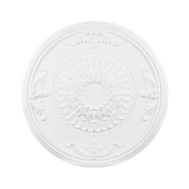 """Elk Lighting M1023 27"""" Pennington Ceiling Medallion White Accessory"""