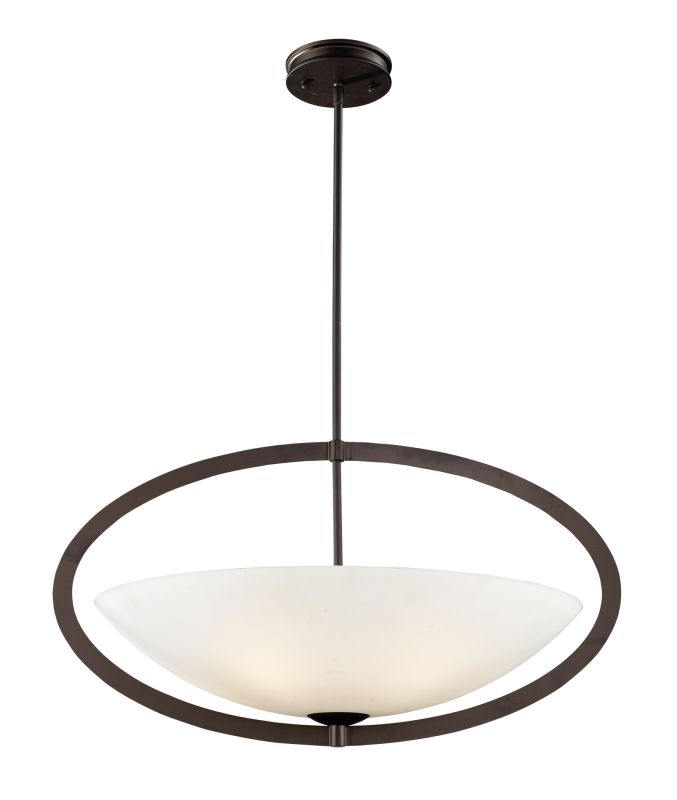 Elk Lighting 10227/5 5 Light Pendant from the Dione Collection Aged