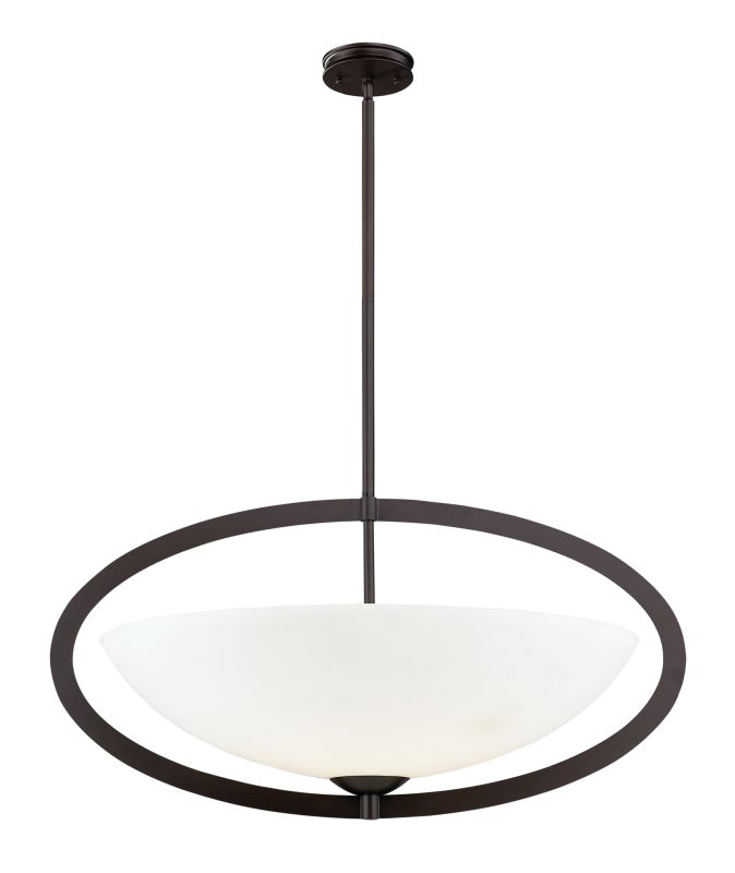 Elk Lighting 10228/6 6 Light Pendant from the Dione Collection Aged