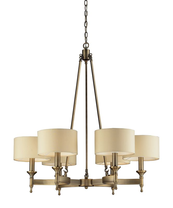 Elk Lighting 10263/6 6 Light Chandelier from the Pembroke Collection