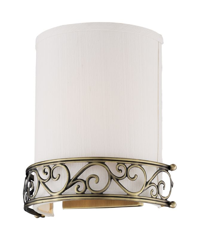 Elk Lighting 11237/1 1 Light Wall Sconce from the Abington Collection