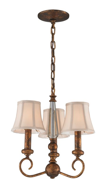 Elk Lighting 11332/3 3 Light Chandelier from the Crestview Collection