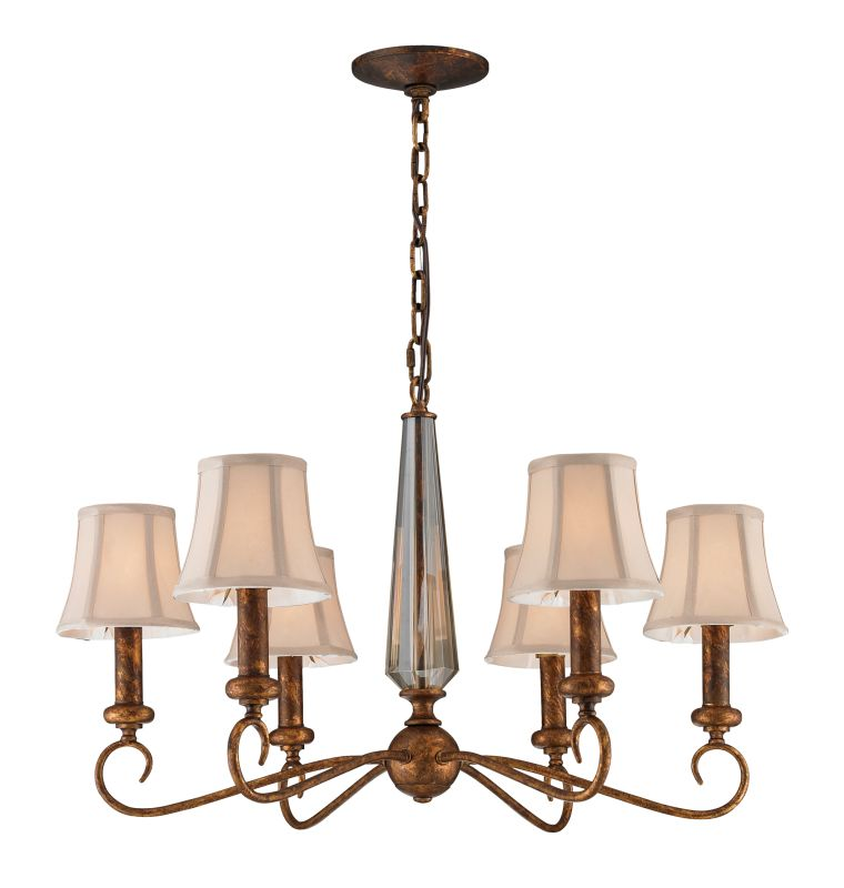 Elk Lighting 11333/6 6 Light Chandelier from the Crestview Collection