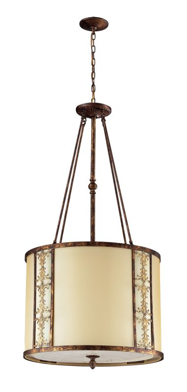 Elk Lighting 11343/8 8 Light Pendant from the Frederick Collection
