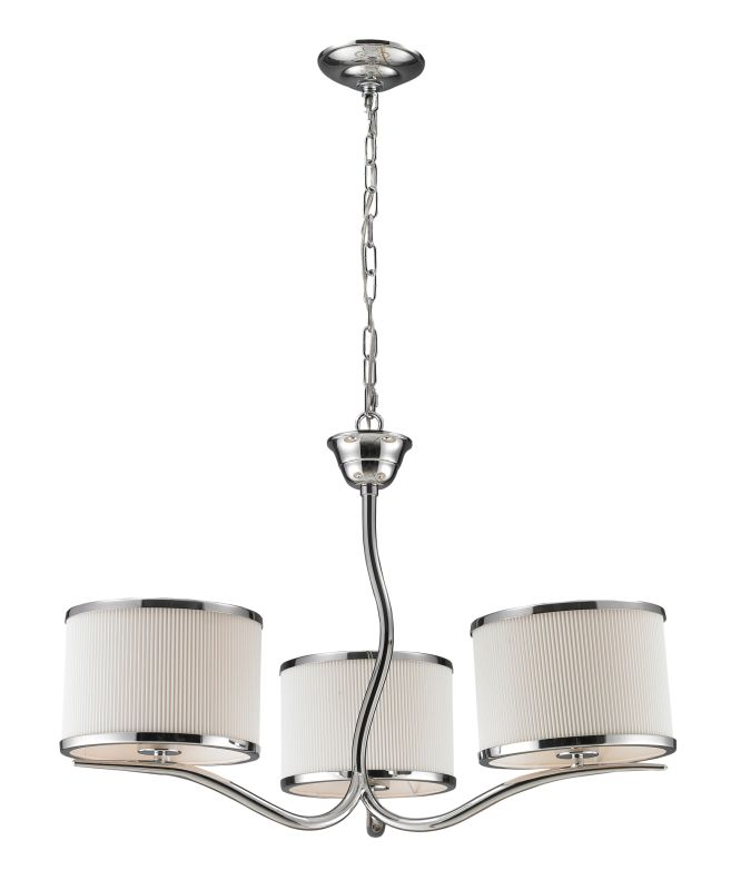 Elk Lighting 11354/3 3 Light Chandelier from the Annika Collection