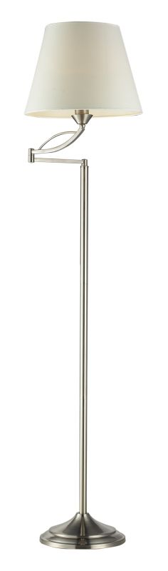 Elk Lighting 17047/1 1 Light Swing Arm Floor Lamp from the Elysburg