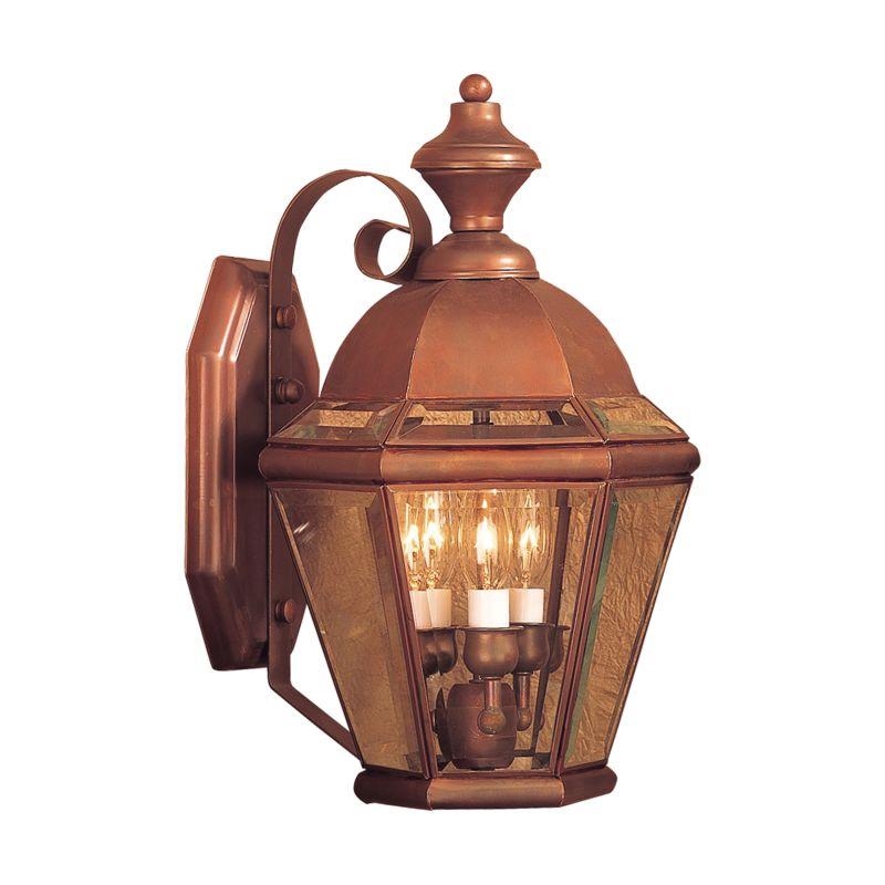 Elk Lighting 3091-AC Newington Aged Copper 3 Light 16 Inch Tall