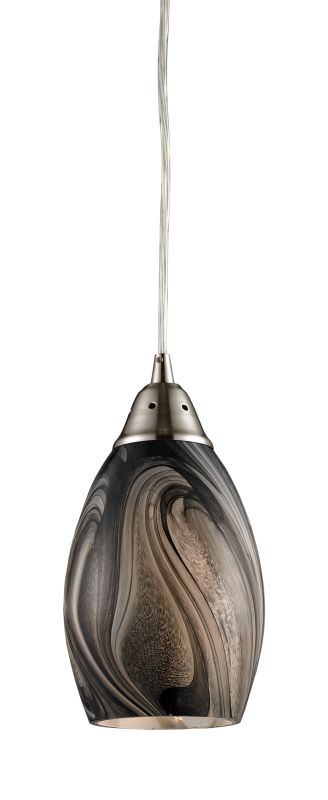 """Elk Lighting 31133/1 Formations Single Light 5"""" Wide Mini Pendant with"""