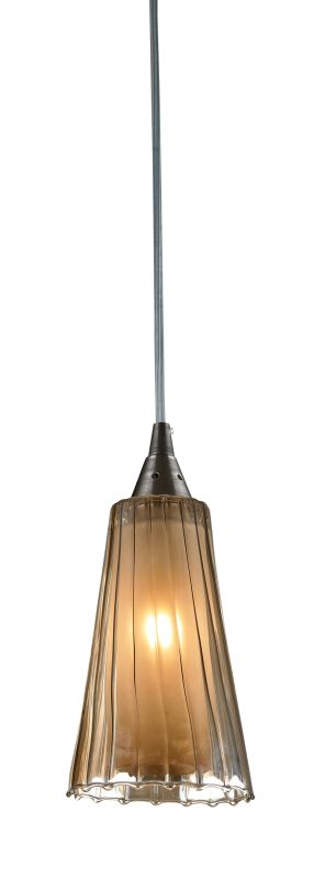"Elk Lighting 31148/1 Encapsulate Single Light 4"" Wide Mini Pendant"