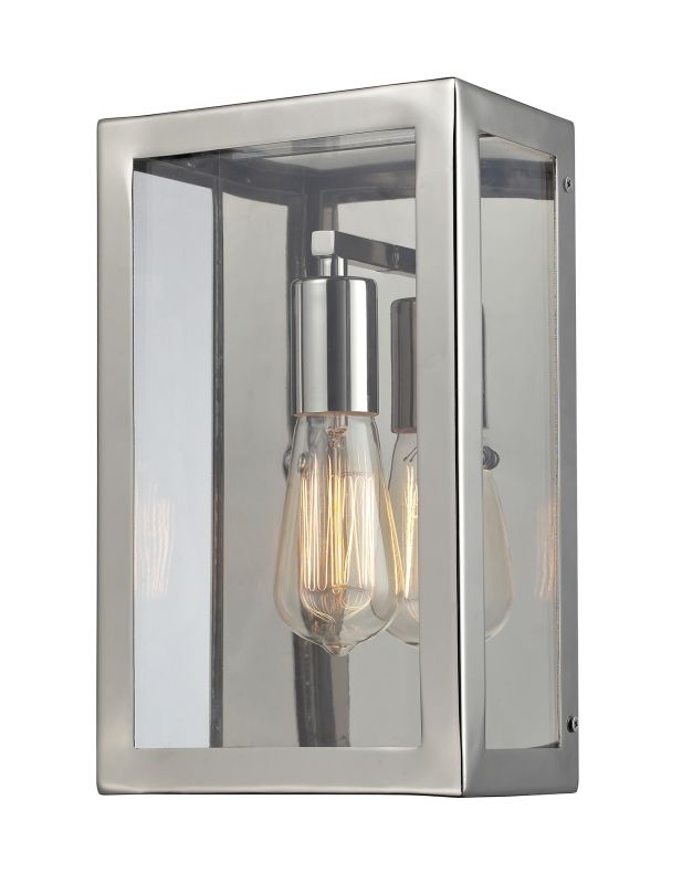 Elk Lighting 31210/1 Chrome Contemporary Parameters-Nickel Wall Sconce Sale $222.00 ITEM: bci1934238 ID#:31210/1 UPC: 748119033846 :