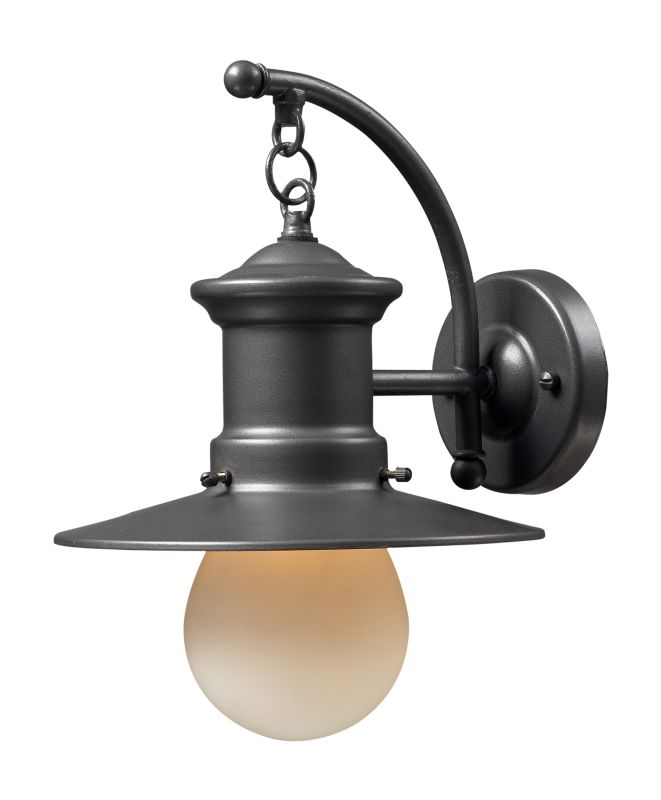 Elk Lighting 42406/1 1 Light Outdoor Sconce from the Maritime