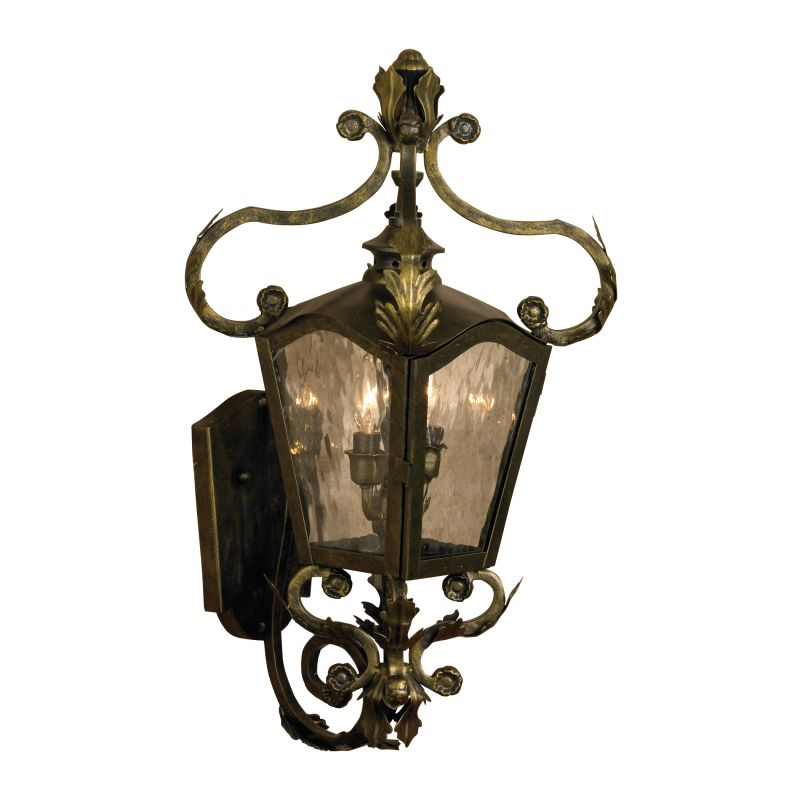 Elk Lighting 5780-CB Acadiana 2 Light 24 Inch Tall Hand Forged Iron